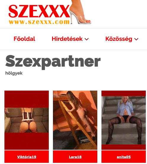szexpartnerek